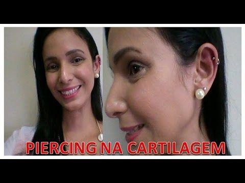 """Piercing na Cartilagem """"ORELHA"""""""