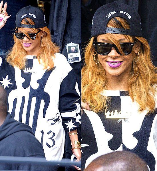 Rihanna leaving the Amstel Intercontinental Hotel in Amsterdam, Netherlands, on June 23, 2013