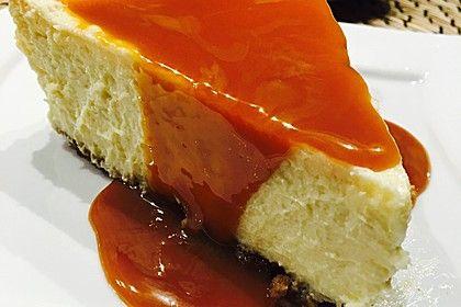 """Amerikanischer New York Cheesecake - so wie der berühmte """"Lindy's Cheesecake"""" in New York"""