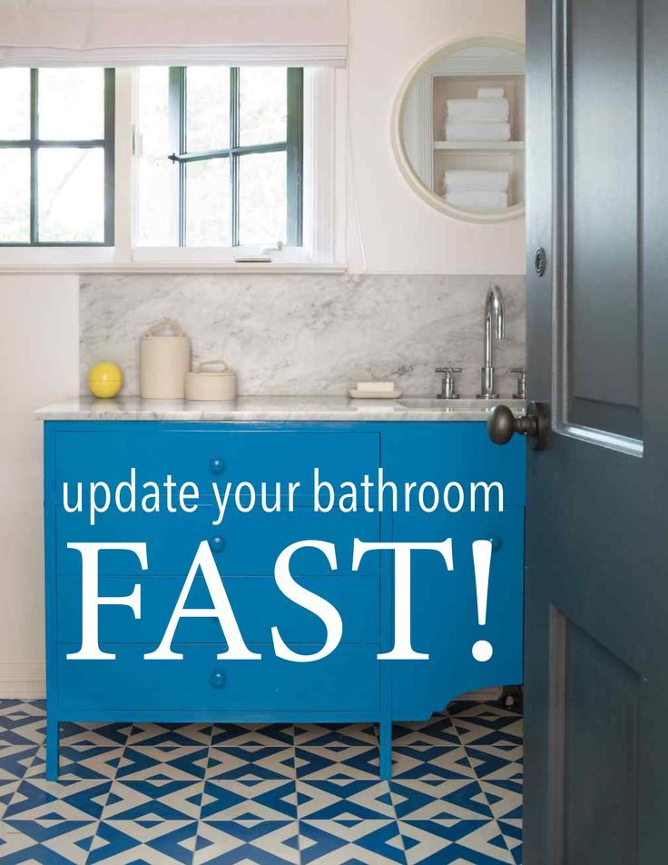 Bathroom Update Tips | Martha Stewart Living - Martha and Kevin Sharkey show simple ways to refresh a bathroom.