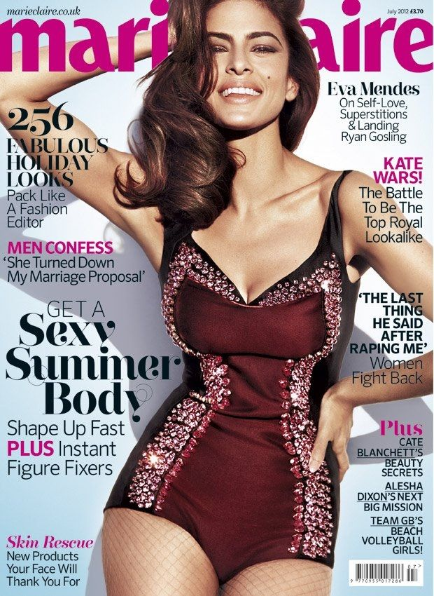 Eva Mendes in Marie Claire. so beautiful