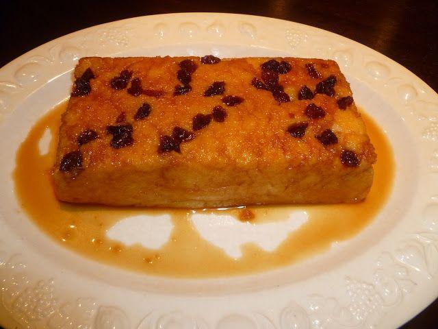 Rosana's Biscuits: Pudín de polenta con coco y pasas