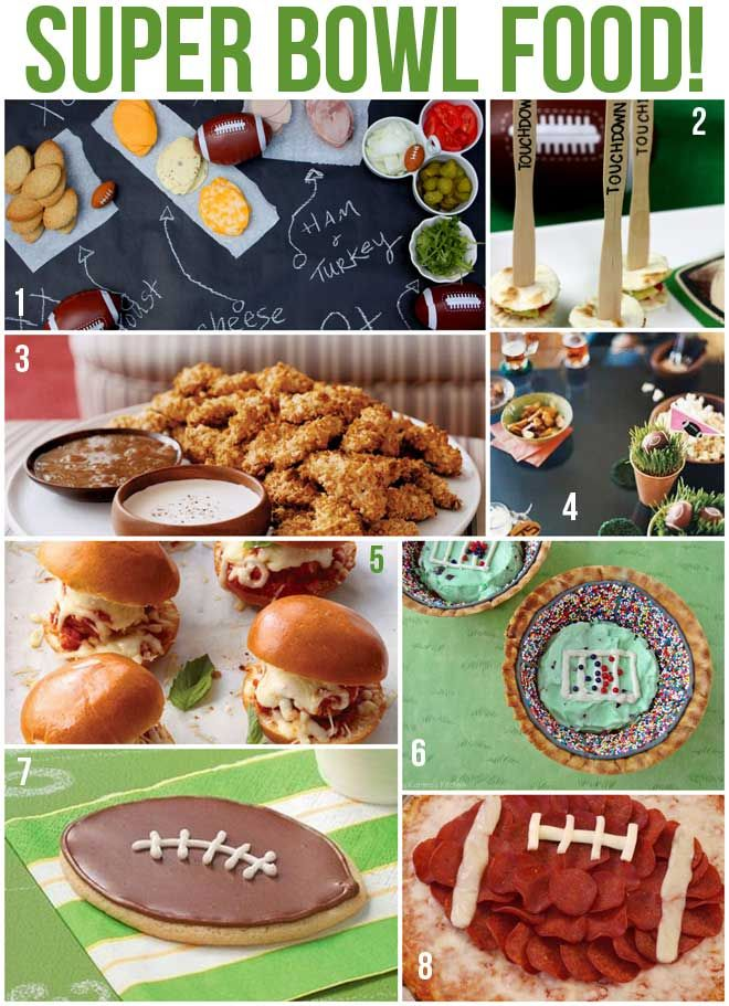 8 Super Bowl Party Recipes  Ideas! on http://pizzazzerie.com