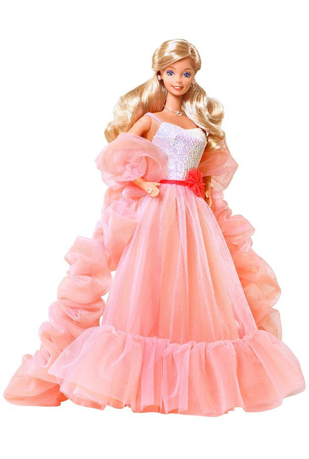 Peaches and Cream Barbie! My absolute favorite Barbie growing up! I was