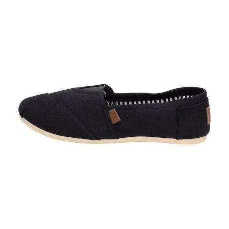 Czarne Tomsy buty damskie WISHOT 064 SLIP ON