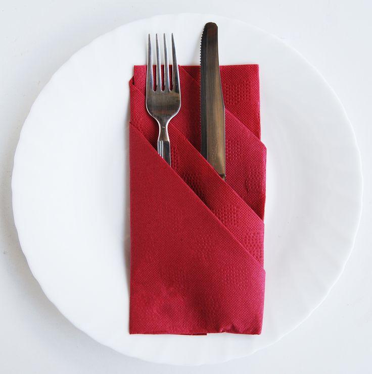 Oltre 25 fantastiche idee su Piegare i tovaglioli su Pinterest - rollwagen für küche