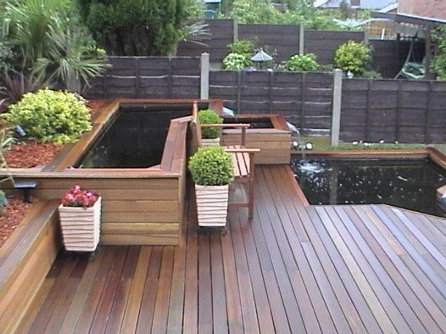 12 best images about white oak decks on pinterest for Zero maintenance garden