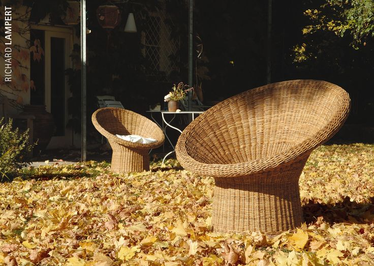 The classic among rattan furniture: ›E10‹ by Egon Eiermann for the 1958 World Expo. #home #rattan #eiermann #garden #gardenfurniture #balcony