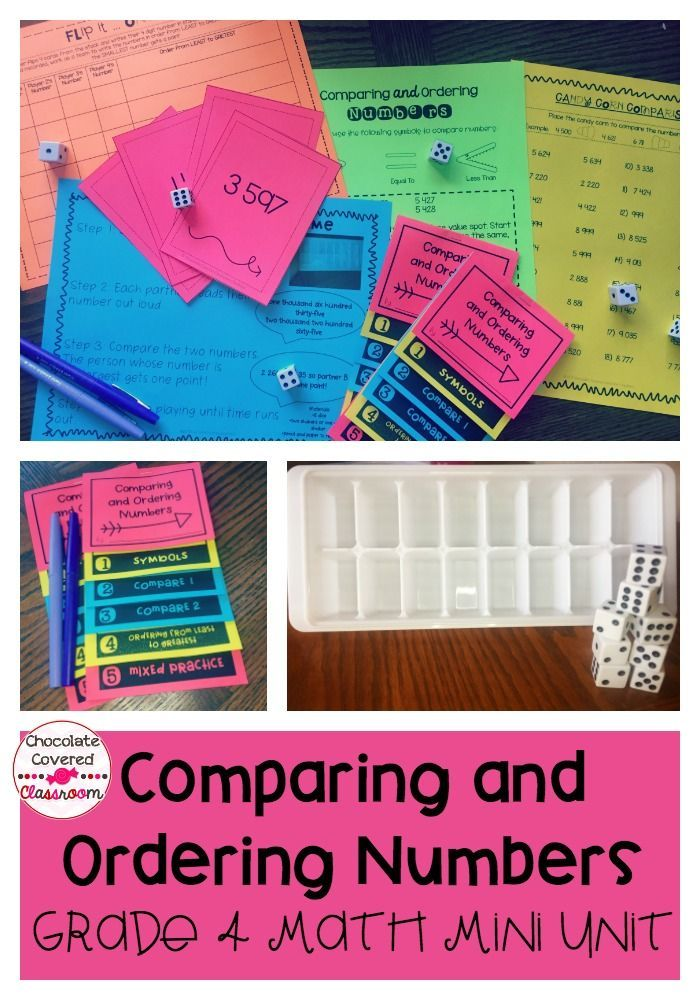 Comparing and Ordering Numbers to 10 000 math unit. Includes fun and engaging games, powerpoint, mini flip book, assessment and teaching suggestions! Everything that you need to teach comparing and ordering whole numbers!