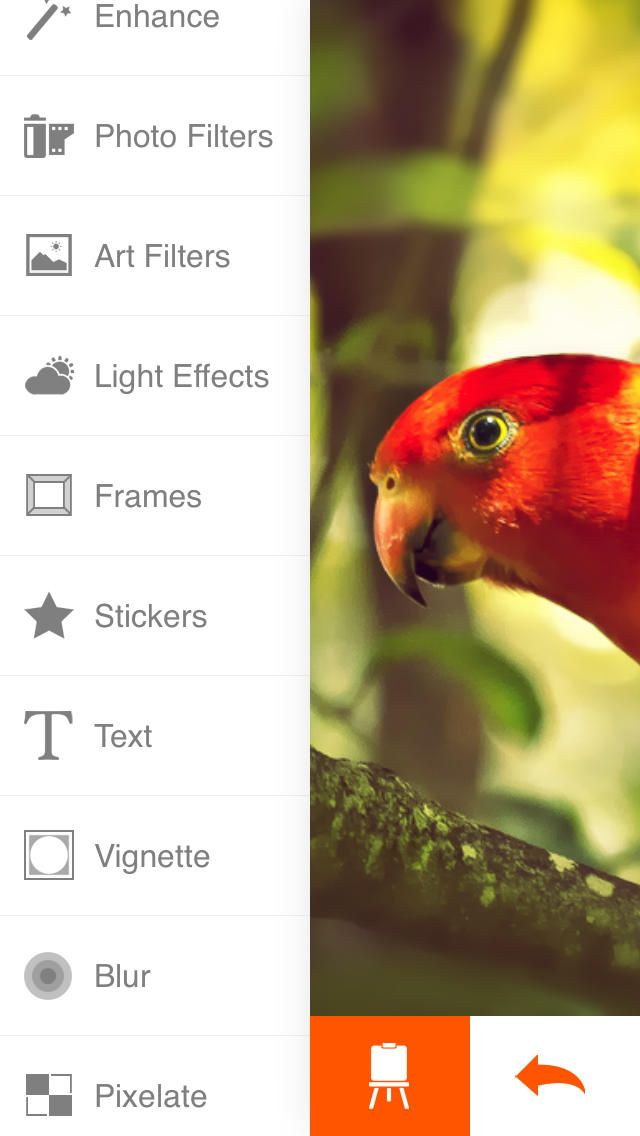 Phoenix Photo Editor on App Store:   Phoenix is a powerful and fast photo editor with a lot of editing tools import and share options. With Phoenix you will have all the freedom to c...  Developer: Ilya Kuznetsov  Download at http://ift.tt/1QxubLd