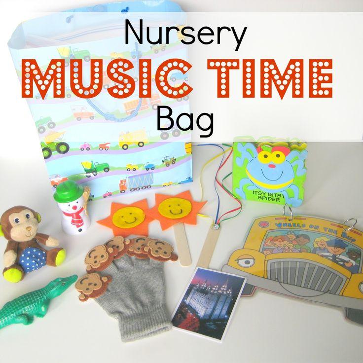 Your Crafty Friend: Nursery Music Time Bag