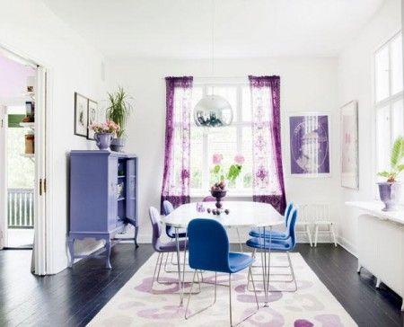 Die besten 25+ Lila esszimmer farbe Ideen auf Pinterest Lila - wohnzimmer lila weis
