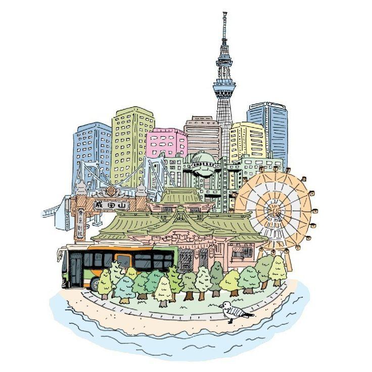 #VSCOcam #pen #picture #illust #illustagram #illustration #line #japan #creative #イラスト #アート #絵 #日本 #graphic #design #magazine #グラフィック #sketchaday #ink #デザイン #東京 #雑誌 #手描き #お台場 #tokyo #イラストレーション #クレア #CREA #都バス