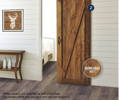 Shared From Flipp Barn Door In The Rona Flyer Our Summerhouse Pinterest Doors Barns And