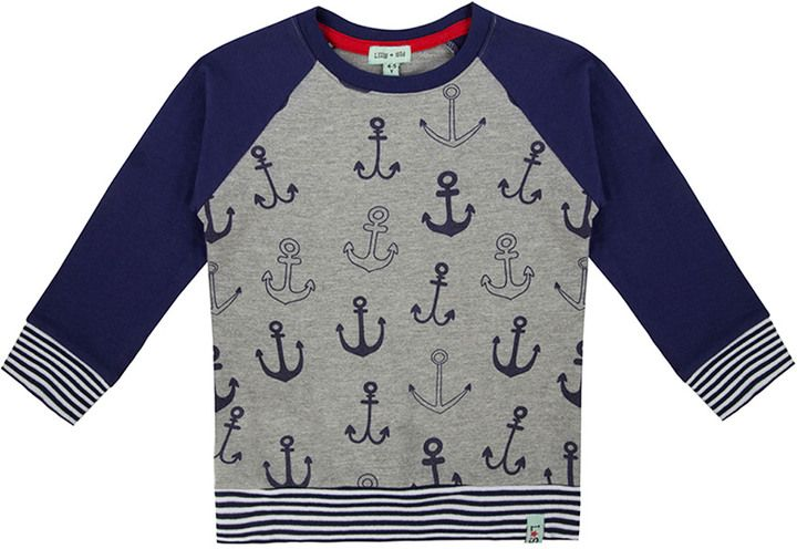 Lilly and Sid Lilly And Sid Boys' Anchor Sweater