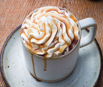 Caramel Flan Latte Hot