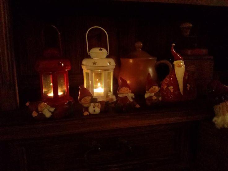 Świąteczna aranżacja #rustykalne #drewniane #annaczerwinska #dekoracje