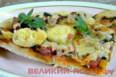Пицца из теста на кефире рецепт приготовления https://www.great-cook.ru/1088-picca-iz-testa-na-kefire-recept-prigotovleniya.html   Пицца – достаточно простое в приготовлении блюдо, которое можно готовить из множества ингредиентов. Но вот стандартное дрожжевое тесто для пиццы получается не у всех: то на вкус недостаточно насыщенное, то на вид не слишком мягкое. А вот тесто на кефире – идеальный вариант: его готовят на соде, а это значит, что и мороки с ним меньше. Пицца из теста на кефире с…