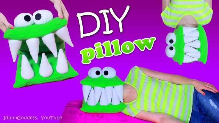 DIY Monster Pillow – How To Make A Head-Eating Pillow