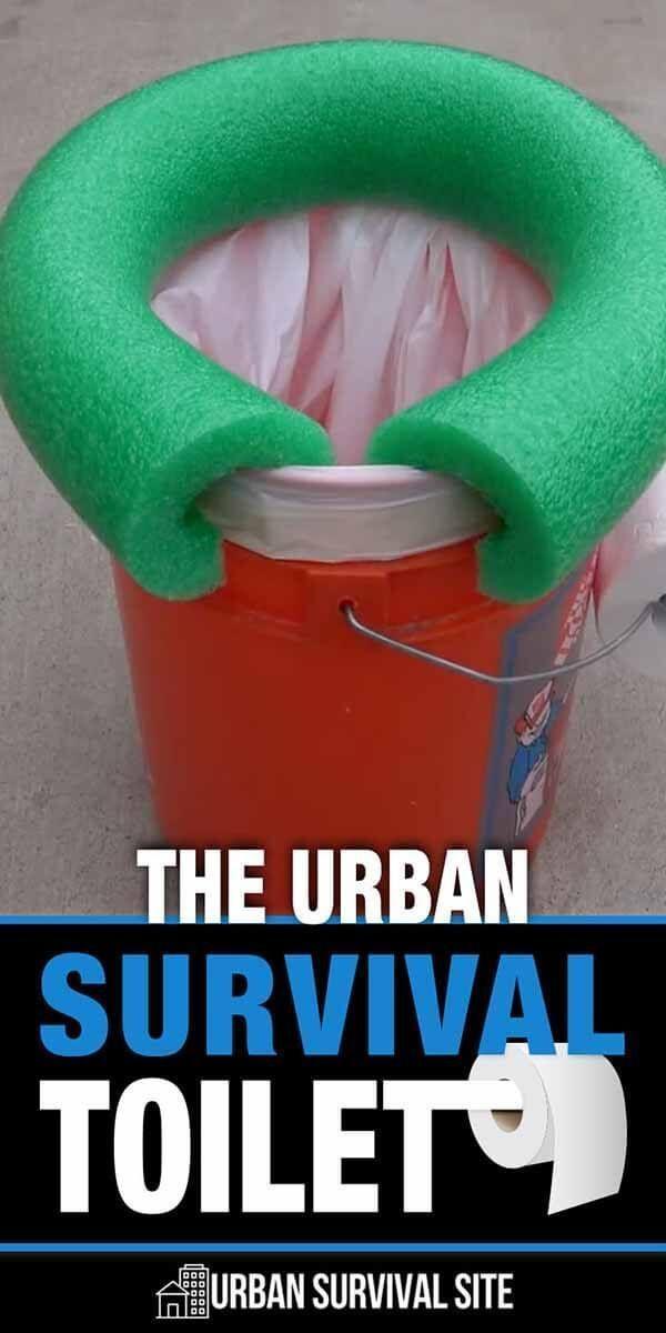 The Urban Survival Toilet – #Survival #tips #Toile…