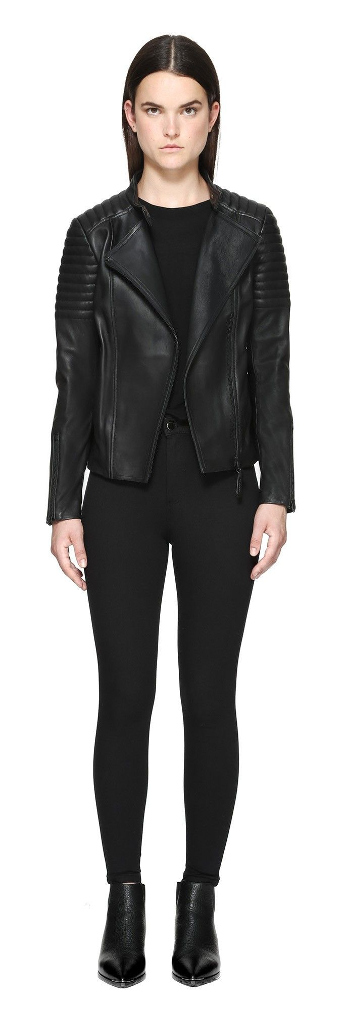 1000  ideas about Short Leather Jacket on Pinterest | Fall clothes