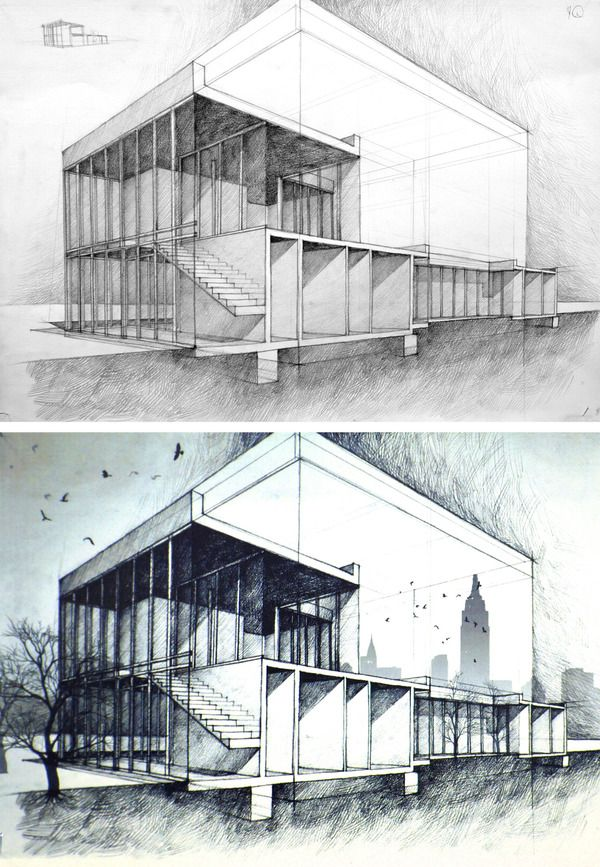 Best Architecture Drawing Sketchs Images On Pinterest
