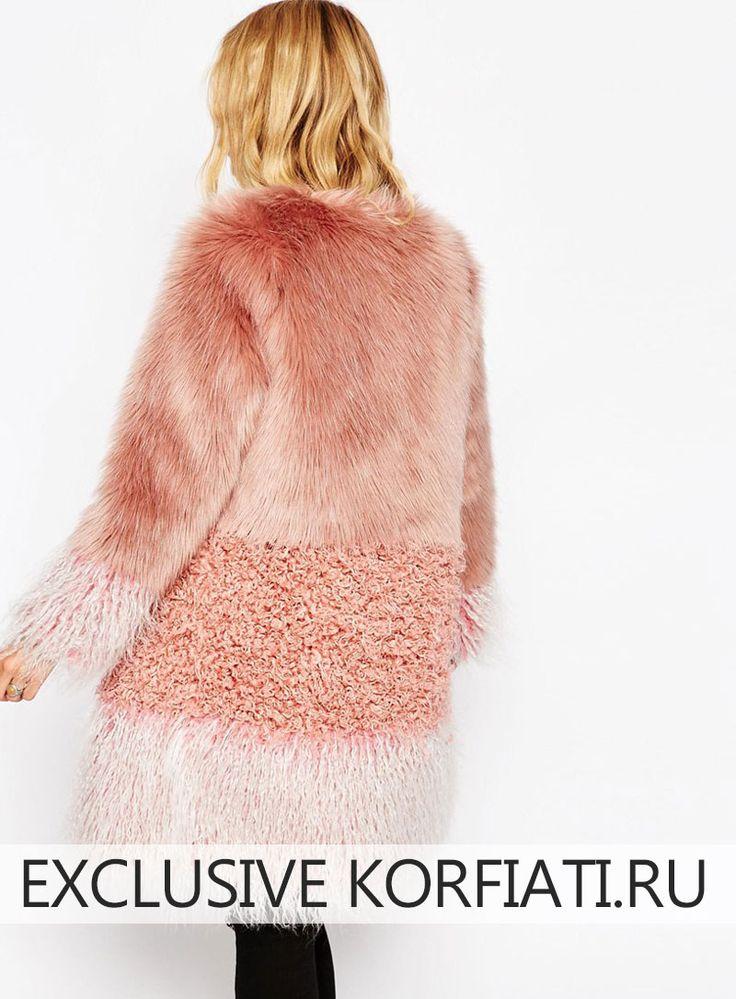 Выкройка мехового пальто. Это пальто из трех видов меха доказывает бесспорную истину – для того, чтобы шить по-настоящему потрясающие модели, нужна идея!