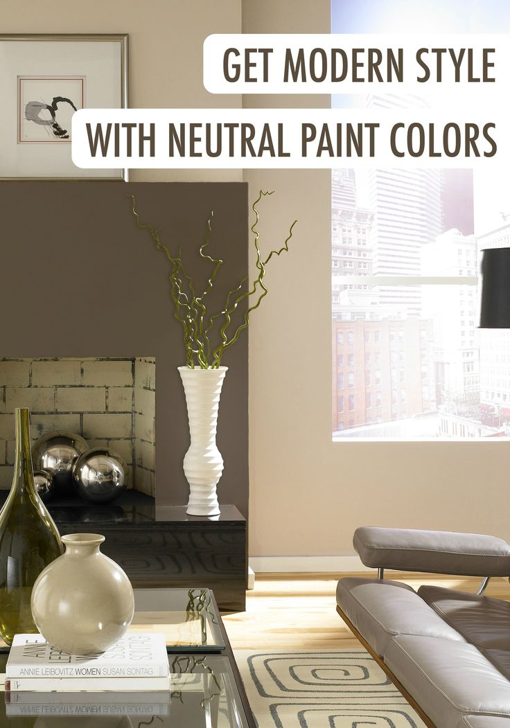Achieving modern style with neutral paint colors is easier for Sophisticated neutral paint colors