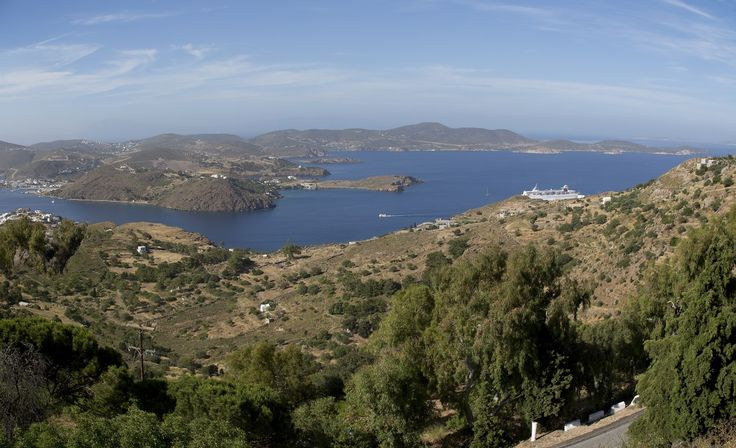 This panoramic view from the top of Patmos hills takes our breath away every single time!  So refreshing! #Celestyalcruises #Patmos #panoramic #view #breathtaking