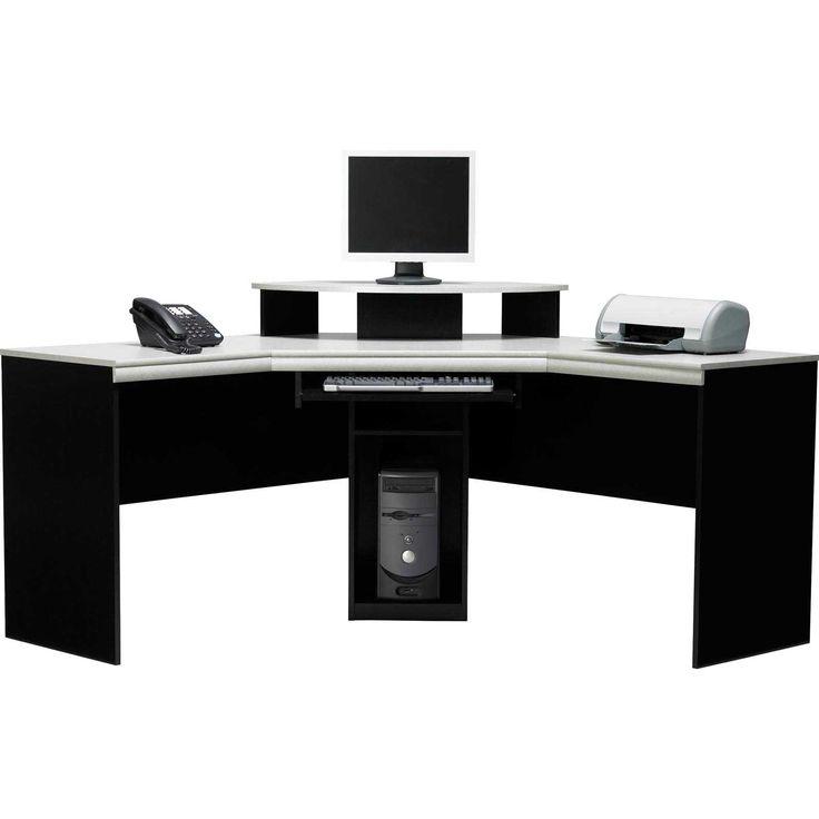 Black And White Corner Desk E Saving Ideas Check More At