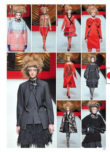 Hiroko Koshino, la femme extravagante.  #hirokokoshino #pretaporter #fashion #catwalk #style #look #fashionshow #tokyo #fall #winter #2014 #2015