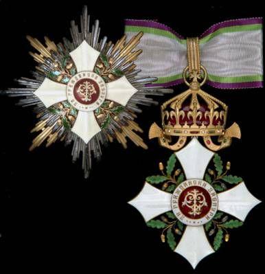 The OMSA Medal Database - Order of Civil Merit, 1st Class set of insignia, - OMSA
