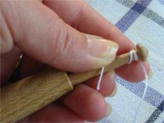 Klöppeln richtig wickeln
