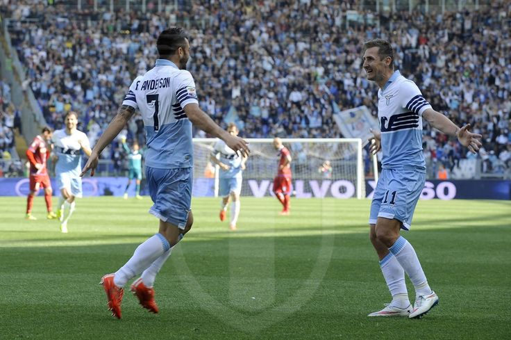 Felipe Anderson e Klose - Lazio
