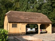 Double Oak Framed Garages in Surrey, Sussex & Hampshire - UK