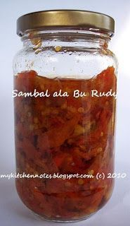 my kitchen notes: Sambal Bawang ala Bu Rudy