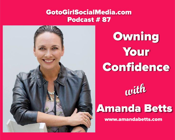 Confidence is key when it comes to running your own business, and life in general actually… So for this podcast I brought in Amanda Betts, from Over 2U and the Bridge the Gap Project. Click over the link and watch my video interview with her.
