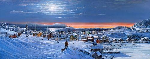 Newfoundland Art - Lloyd Pretty | Newfoundland Art ...