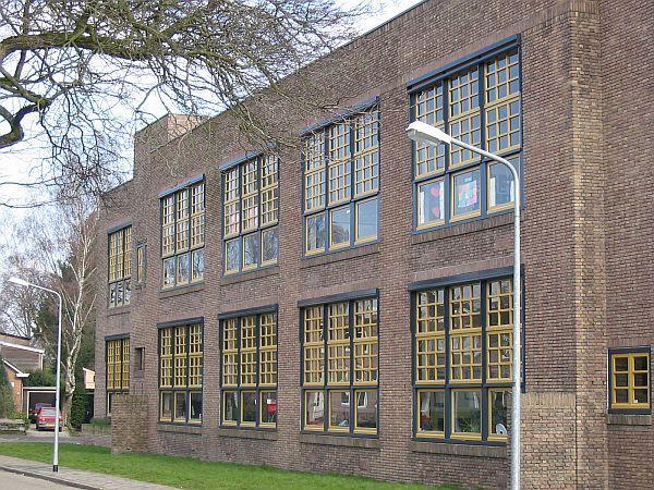 Dudok, Rembrandtschool, Hilversum 1919-1920