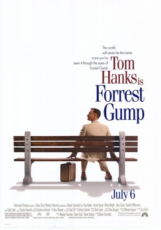 Forrest Gump Movie Poster Print (27 x 40) - Item # MOVCF4424 - Posterazzi
