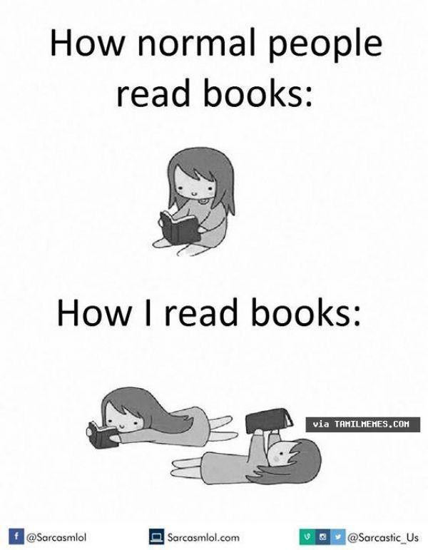 How I read books Tamil Meme | Tamil Memes & Trolls