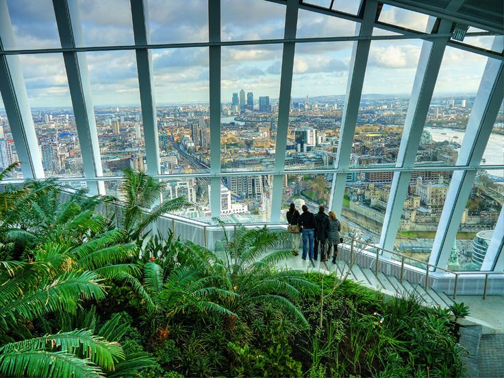 First Look at the Sky Garden – London Landmark - www.luxurycolumnist.com