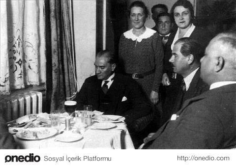 Atatürk'ün Rakı İle İlgili Anıları