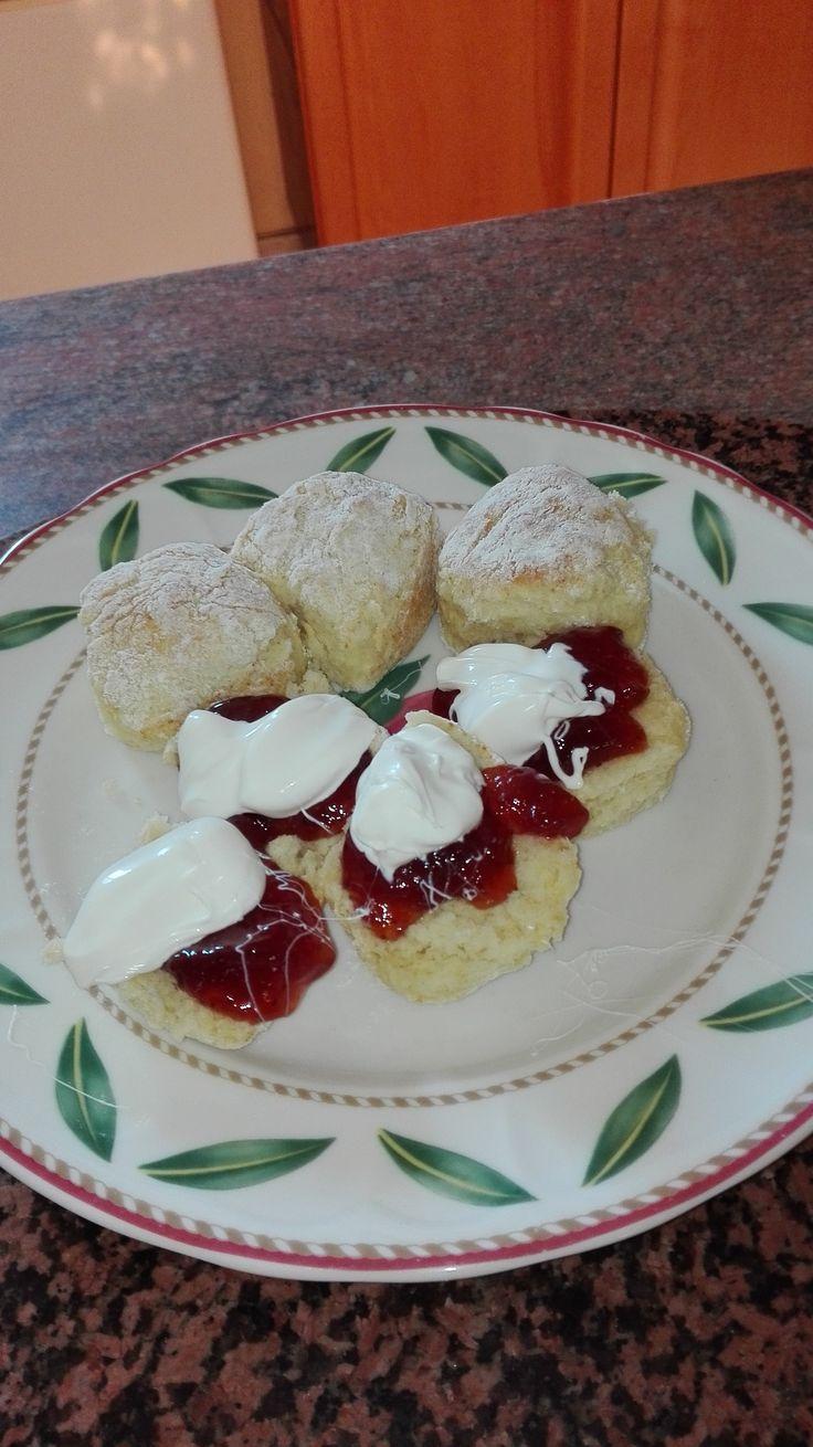 My favourite never fail scone recipe