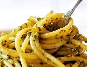 Espaguete ao limão (vegan)