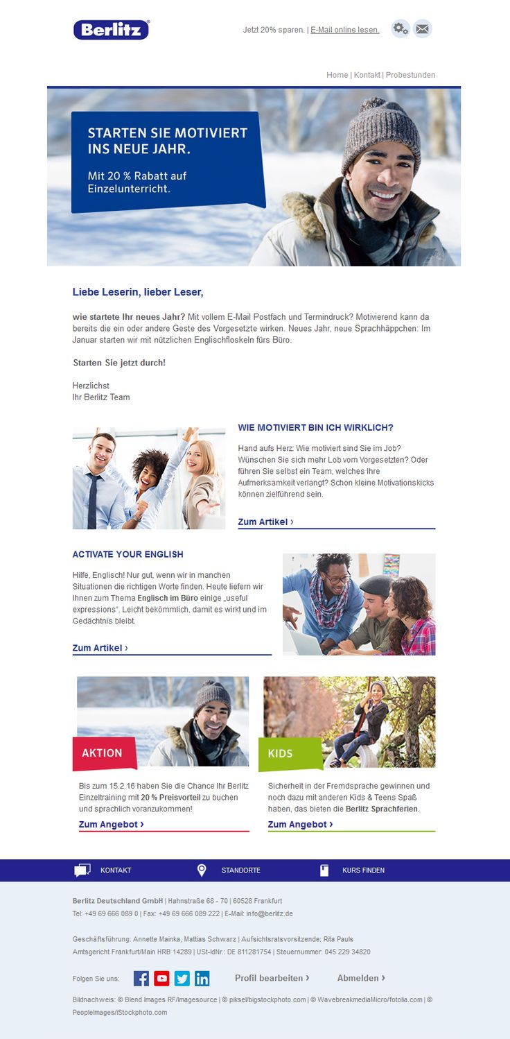 #Newsletterdesign #E-Mail Marketing #Newsletter