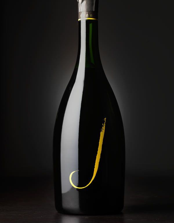 J Sparkling Wine | J Vineyards and Winery by CF Napa Brand Design, via Behance