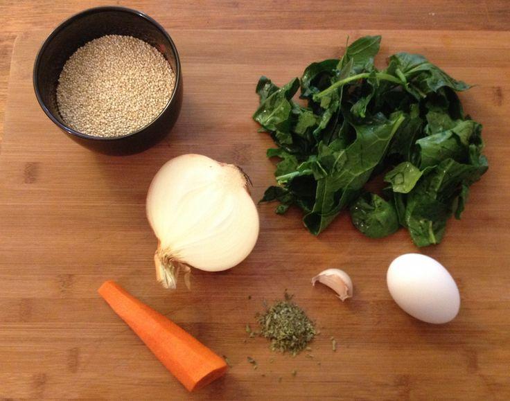 Sana tortilla, con las propiedades nutritivas de la quínoa