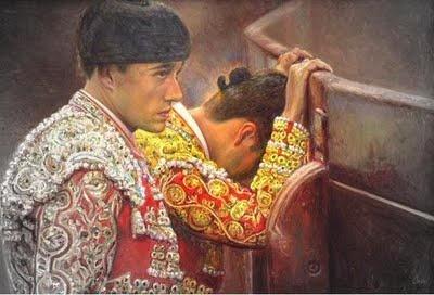El torero jamás es un cobarde, aunque, a veces, experimente la sensación indescriptible del miedo. (Victoriano de la Serna) ¡Buenos días!