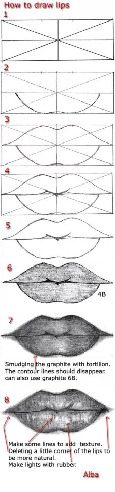 Lips guidelines!